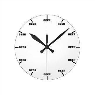 """Beer O' Clock"" Wallclock"
