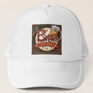 """""""Beer O'Clock"""" Trucker Hat"""