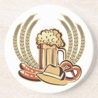Beer Oktoberfest Graphic Coaster