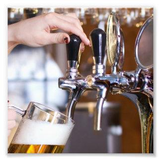Beer on Tap Photo Print