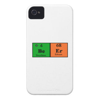Beer Periodic Table iPhone 4 Cases