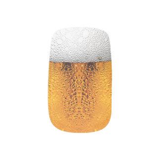 Beer Pint October Festival Stein Amber Minx Nail Art