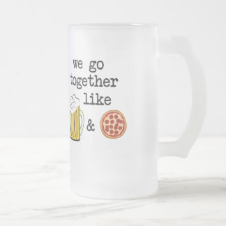 Beer & Pizza Mug