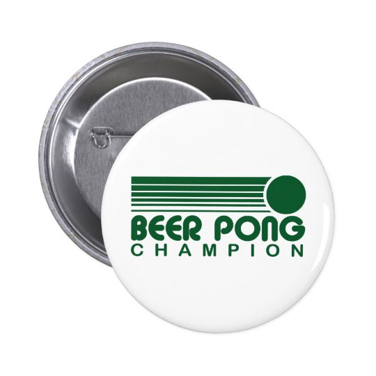 Beer Pong 6 Cm Round Badge
