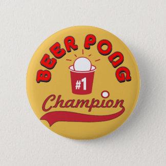 Beer Pong Award 6 Cm Round Badge