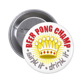 Beer Pong Champ Button