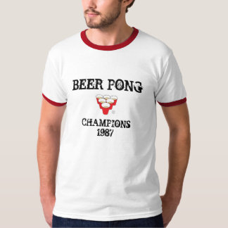 Beer Pong Champions 1987 T-Shirt