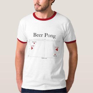 Beer Pong Diagram T-Shirt