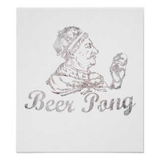Beer Pong King Poster