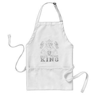 Beer Pong King Standard Apron