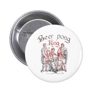 Beer Pong Kings 6 Cm Round Badge