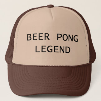 Beer Pong Legend Trucker Hat