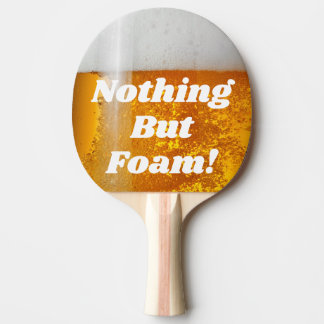 Beer Pong Nothing But Foam Ping Pong Paddle