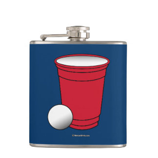Beer Pong Pocket Hip Flask