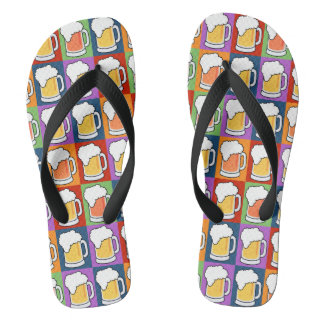 BEER Pop-Art sandals