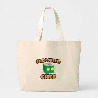 Beer-Powered Chef Tote Bag