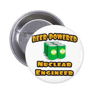 Beer-Powered Nuclear Engineer Button