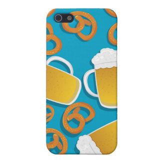 Beer & Pretzels  iPhone 5 Cases