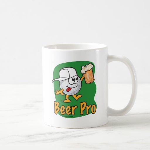 Beer Pro Cartoon Golf Ball Mugs