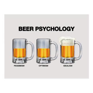 Beer Psychology Postcard