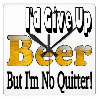 Beer Quitter Clock