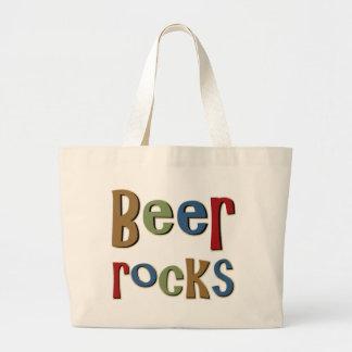 Beer Rocks Jumbo Tote Bag