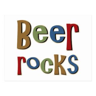 Beer Rocks Postcard