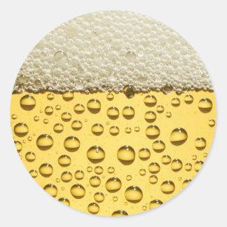 Beer Round Sticker