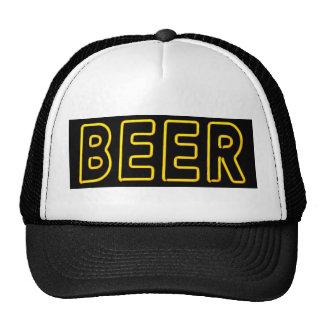 Beer Sign in Neon Cap