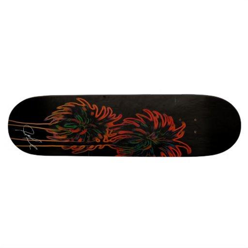 Beer Sign Palm Skatedeck Skateboard