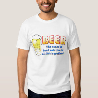 Beer - Solutions and Problems (lite) Tee Shirt