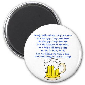 Beer Song magnet
