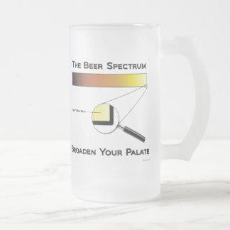 Beer Spectrum Frosted Mug