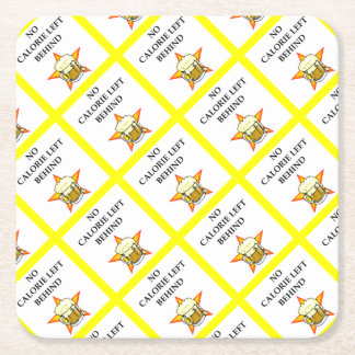 beer square paper coaster