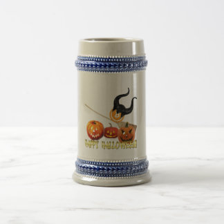 Beer Stein with bitcoin