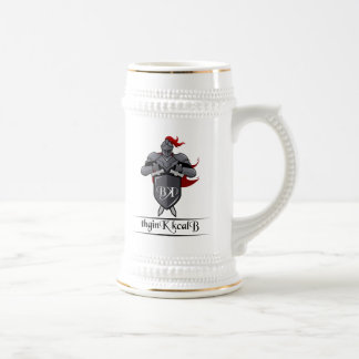 Beer Stein with Channel Logo