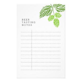 Beer Tasting Notes, party, hops Flyer