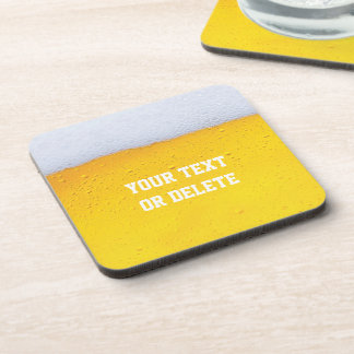 Beer Texture Coasters (set of 4)