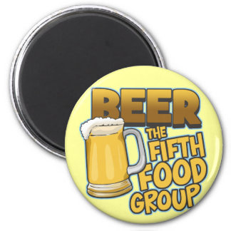 Beer: The Fifth Food Group T-Shirts & Gifts Magnet