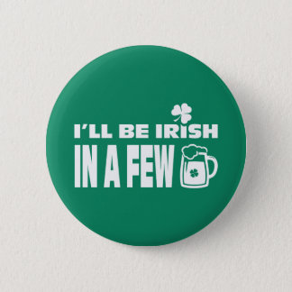 Beer Theme Fun St. Patrick's Day Buttons