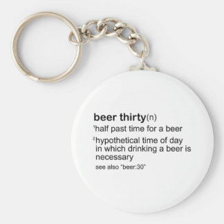 Beer Thirty Keychains