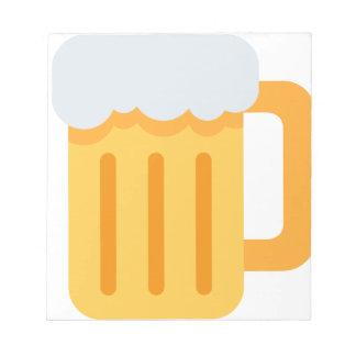 Beer time emoji notepad