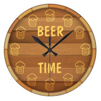 Beer Time Wallclock