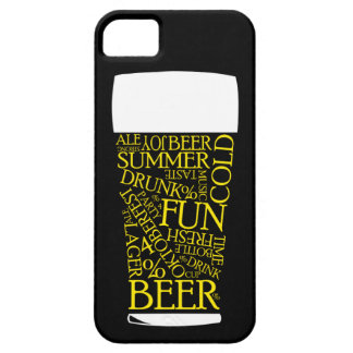 Beer Typography iPhone 5 Cases