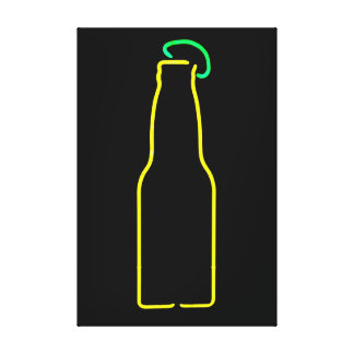 Beer with Lime Canvas Prints