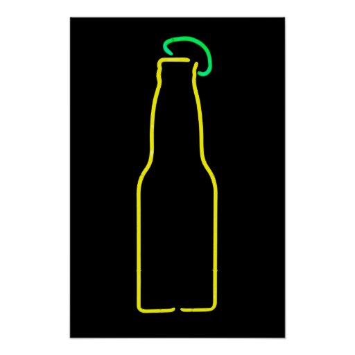 Beer with Lime Poster
