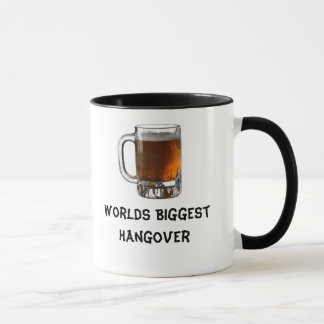 beer, Worlds Biggest Hangover Mug