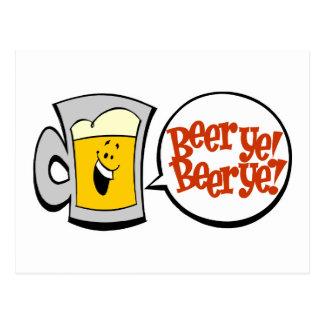 Beer Ye! Beer Ye! Postcard