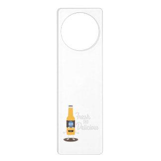 Beerbottle fresh and delicious Zdm8l Door Hanger