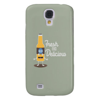 Beerbottle fresh and delicious Zdm8l Galaxy S4 Covers